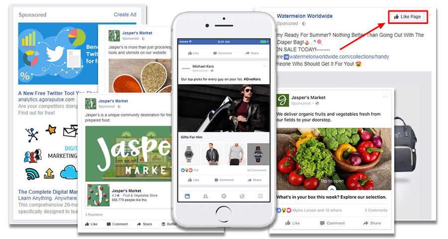 Image result for facebook ad