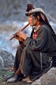 Kalasha woman in Chitral