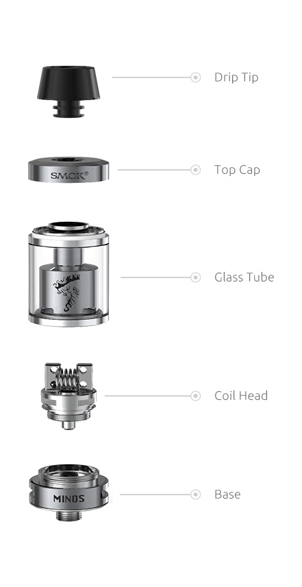 Smok Minos Tank (One customer may only buy one at this