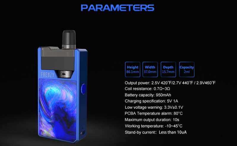GeekVape Frenzy Features 8