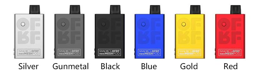 SMOK & OFRF nexMESH Pod Starter Kit Full Colors