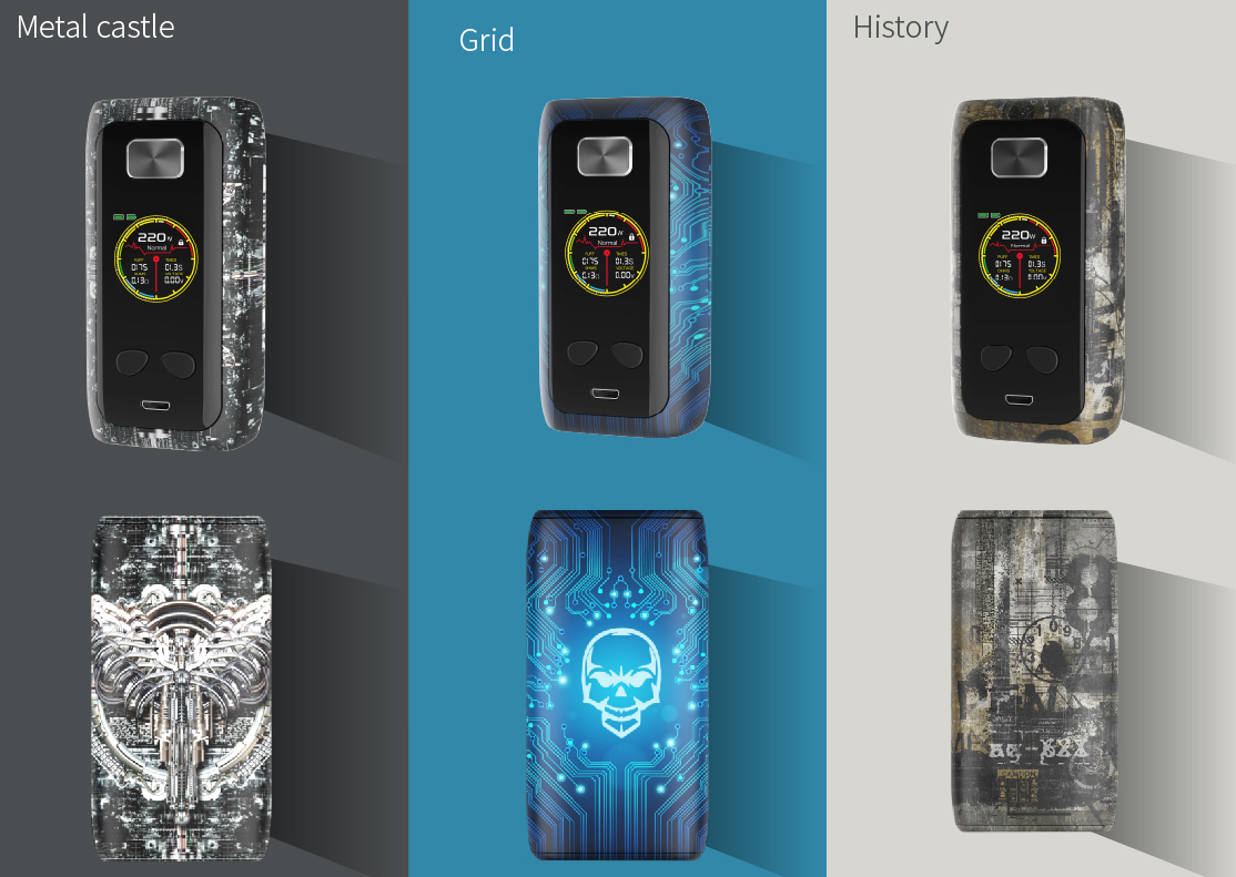 Think Vape Thor Pro 220W Box Mod  Demon