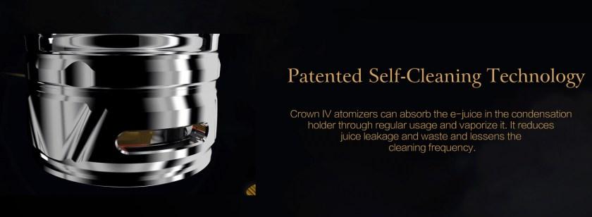 Uwell Crown 4 Vape Kit Features 5