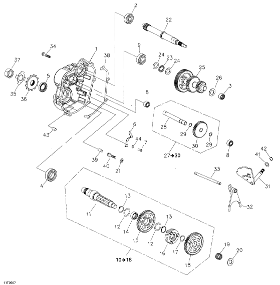 Bombardier Rally 200 Wiring Diagram 2005 Rally 175 Intermediate Shaft Ass Y Can Am Part