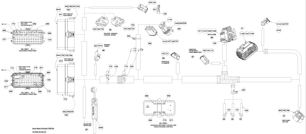 medium resolution of seadoo gtx fuse box wiring library2010 gtx 155 wiring harness includes 1 to 2050