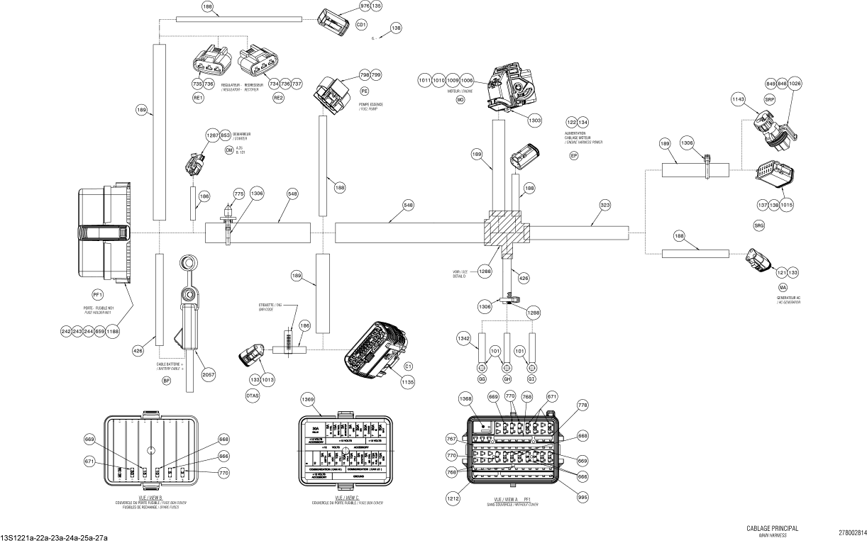2005 Skidoo Gtx Fuse Box : 24 Wiring Diagram Images