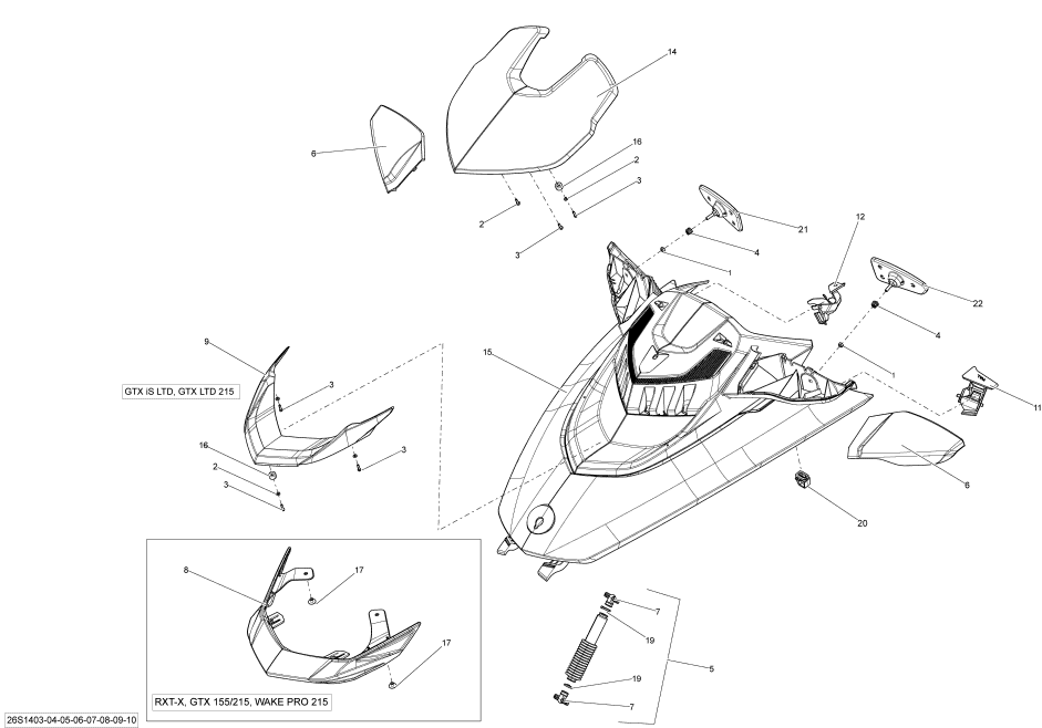Wiring Diagram: 31 Sea Doo Spark Parts Diagram