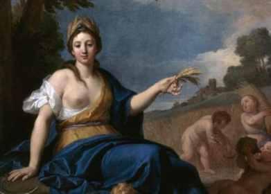 Ceres - An Allegory of Summer Louis de Boullogne (1657-1733)