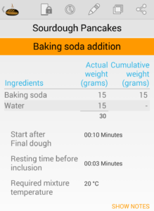bread boss baking soda addition