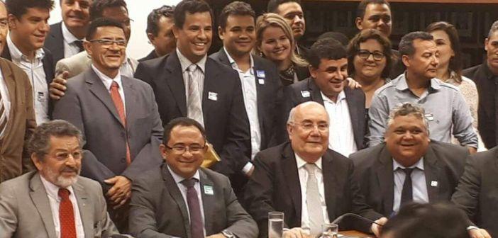 Prefeito e Vice Prefeito de Soure vão a Brasília em busca de melhorias para a cidade.