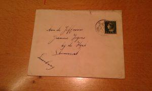 envelop brief van pappa uit 1940