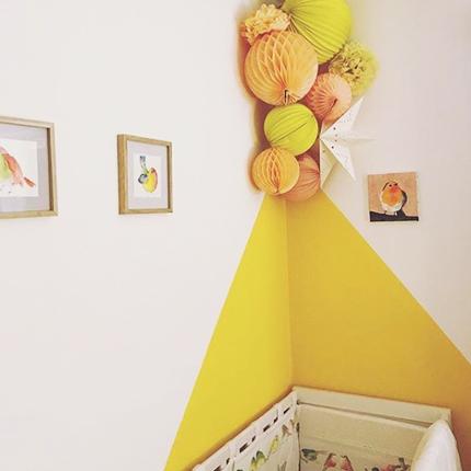 chambre bebe et enfant des lampions