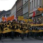 Bildungsstreik, gelbes Spektakel: Kick für den Augenblick?