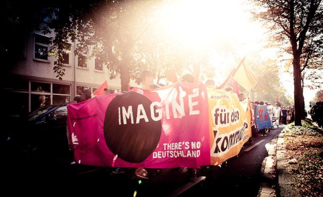 """Redebeitrag """"Imagine there's no Deutschland"""""""