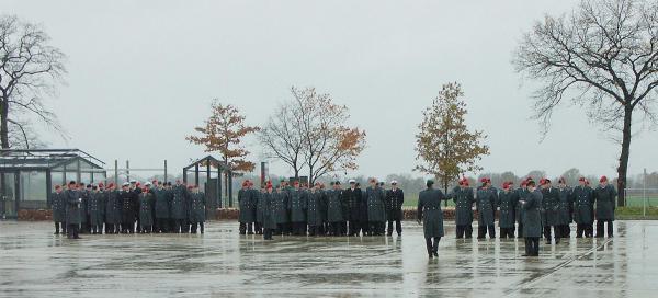 Bundeswehr in KZ Gedenkstätte Neuengamme