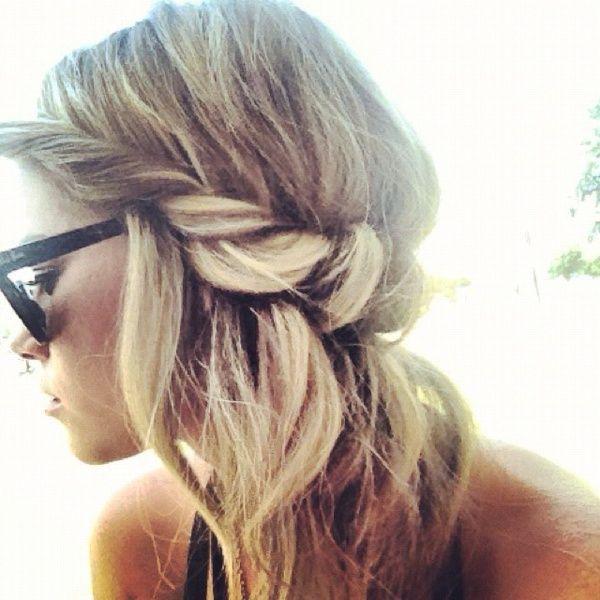 Frisur Lange Haare Haarband Stilvolle Frisuren Beliebt In