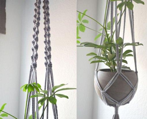 pretty in grey unser wohnzimmer plus diy blumenampel. Black Bedroom Furniture Sets. Home Design Ideas