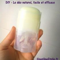recette déodorant facile