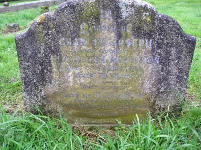 Headstone reference G14 Plan 2 - Anderson, Charles Joseph & Anderson, Elizabeth