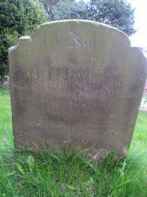 Headstone reference G19 Plan 1 - Wattam, George & Wattam, John