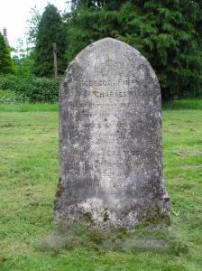 Headstone reference G41 Plan 3 - Firth, Rebecca & Firth, Charles