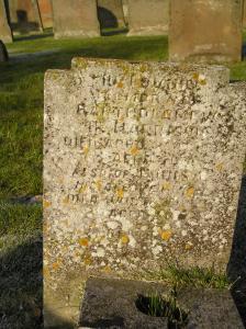 Headstone reference G13 Plan 4 - Harrison, Bartholomew B & Harrison, Louisa