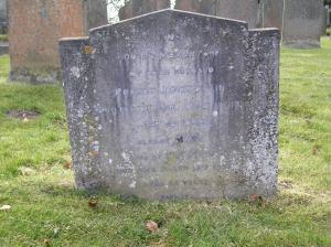 Headstone reference G12 Plan 4 - Atkin, Robert James & Atkin, Mary