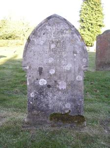 Headstone reference G10 Plan 4 - Brumpton, William