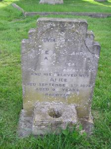 Headstone reference G32 Plan 4 - England, Fred & England, Alice