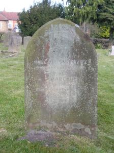 Headstone reference G16 Plan 4 - Smithson, William & Smithson Margaret
