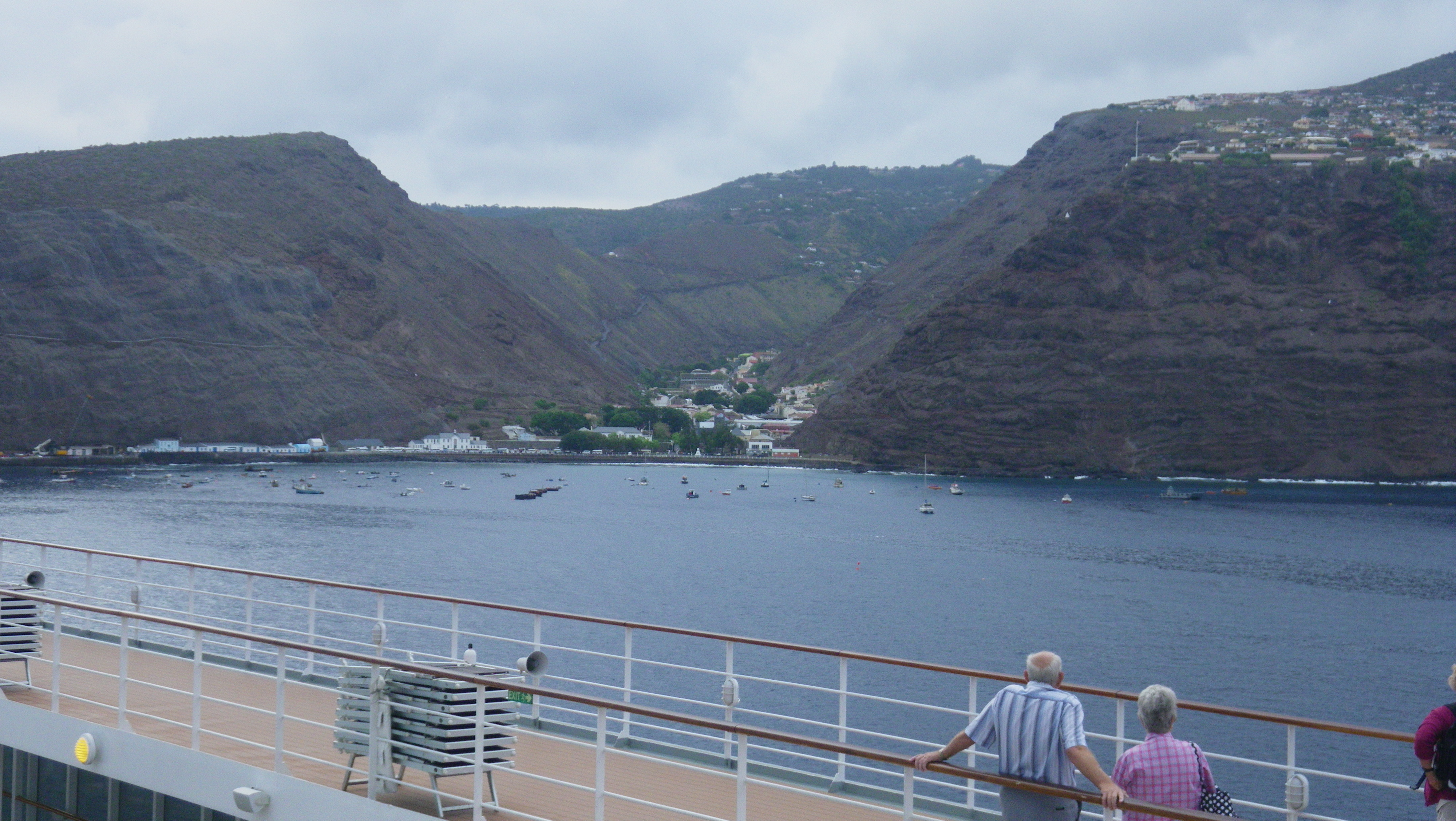 Cruise to St Helena Island from Cape Town