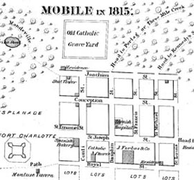 Historic Markers in the City of Mobile