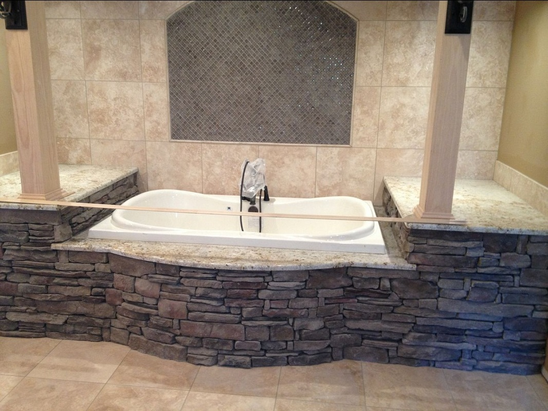 Stone Interiors  Tub Surround  South Alabama Brick Company