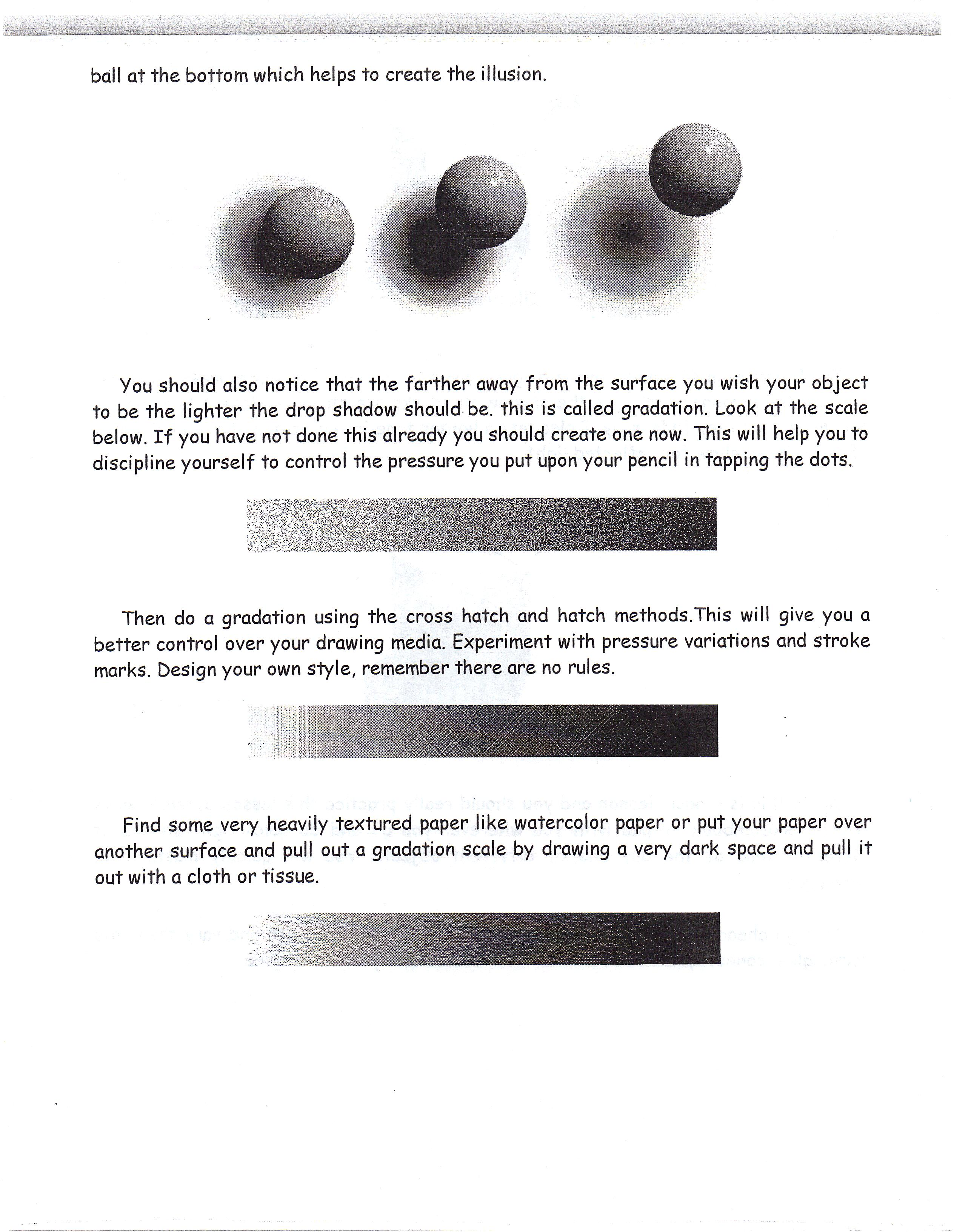 Birmingham Ashley Art I Lessons Notes