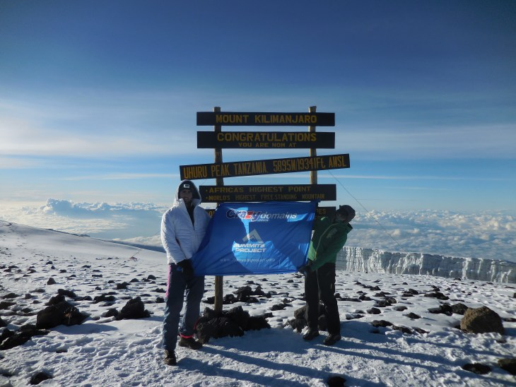 Mount Kilimanjaro ticked off!