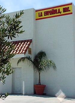 Exterior of La Espanola Meats grocery store.