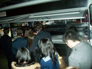 <p>Stepping Up to the Kogi Truck</p>