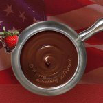 A bottomless bowl of chocolate fondue?  YES WE CAN!