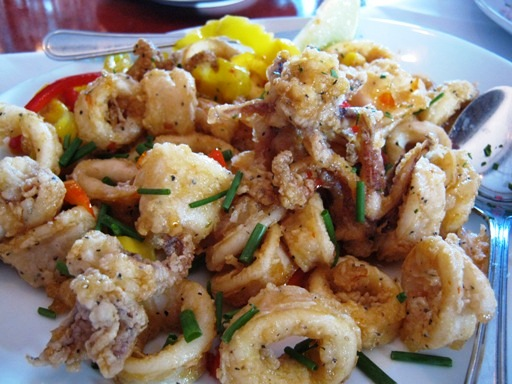 <p>Sweet Chili Calamari</p>
