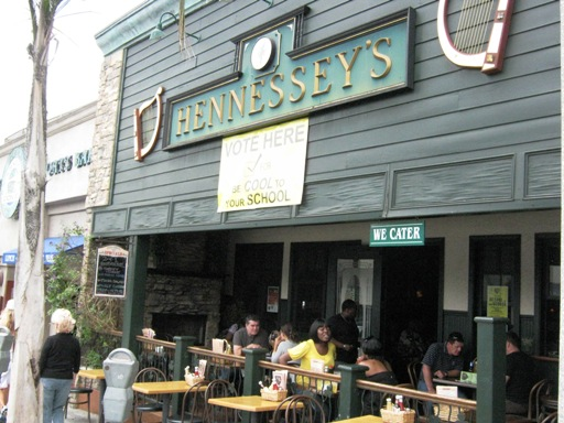 <p>The Patio Seating Is Nice at Hennessey's Manhattan Beach</p>