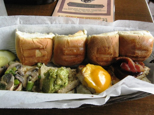 <p>The Burger Sampler; Look for it on the Appetizers Page!</p>