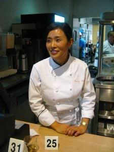 E.J., Cham's head chef
