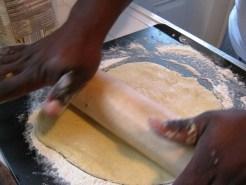 2010-10-17 Fish Taco Pizza - Crust and Final Pics 025