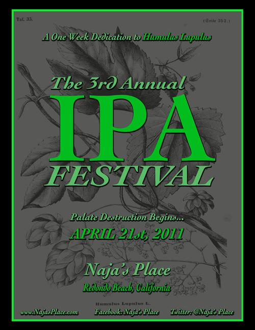 Najas 3rd Annual IPA Festival 2011