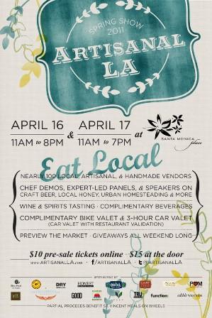 Artisanal LA Spring Poster