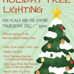 Tree Lighting and Holiday Events in Manhattan Beach, Hermosa Beach