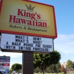 Kings Hawaiian Sign