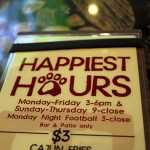Happy Hour Menu at Lazy Dog Cafe, Torrance