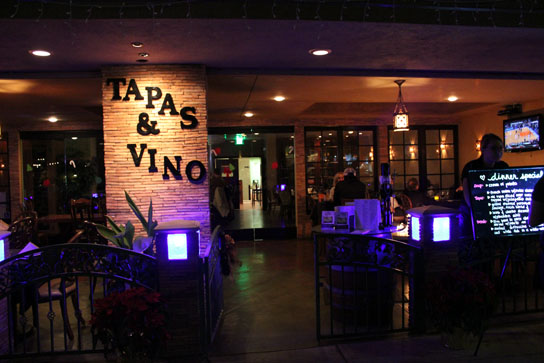 The Store Front at Tapas & Vino