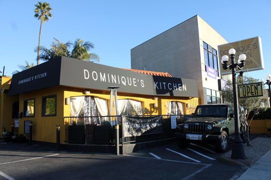 Dominique's Kitchen in Redondo Beach features a fun, and well priced happy hour on Mondays only.